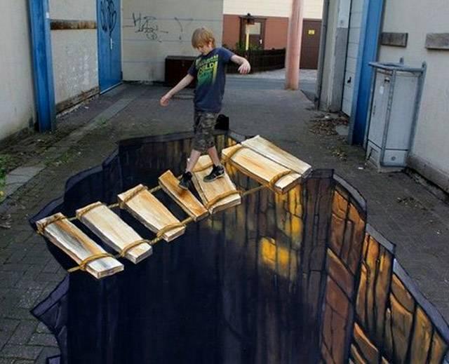 北京非鱼墙绘3D立体画