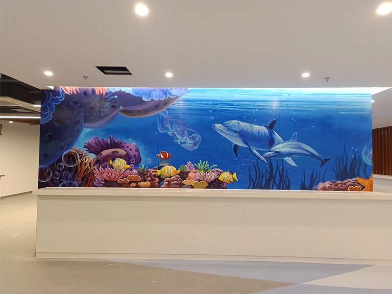 北京非鱼墙绘